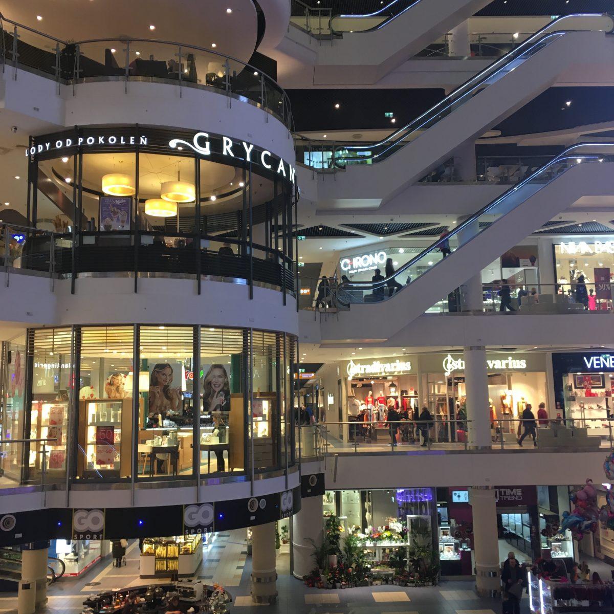 Blue city mall