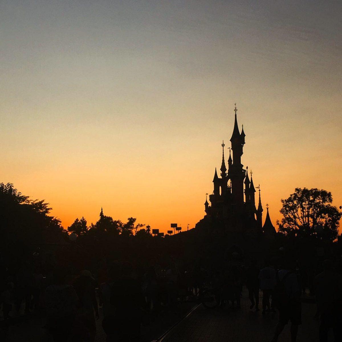 Disneyland ilta