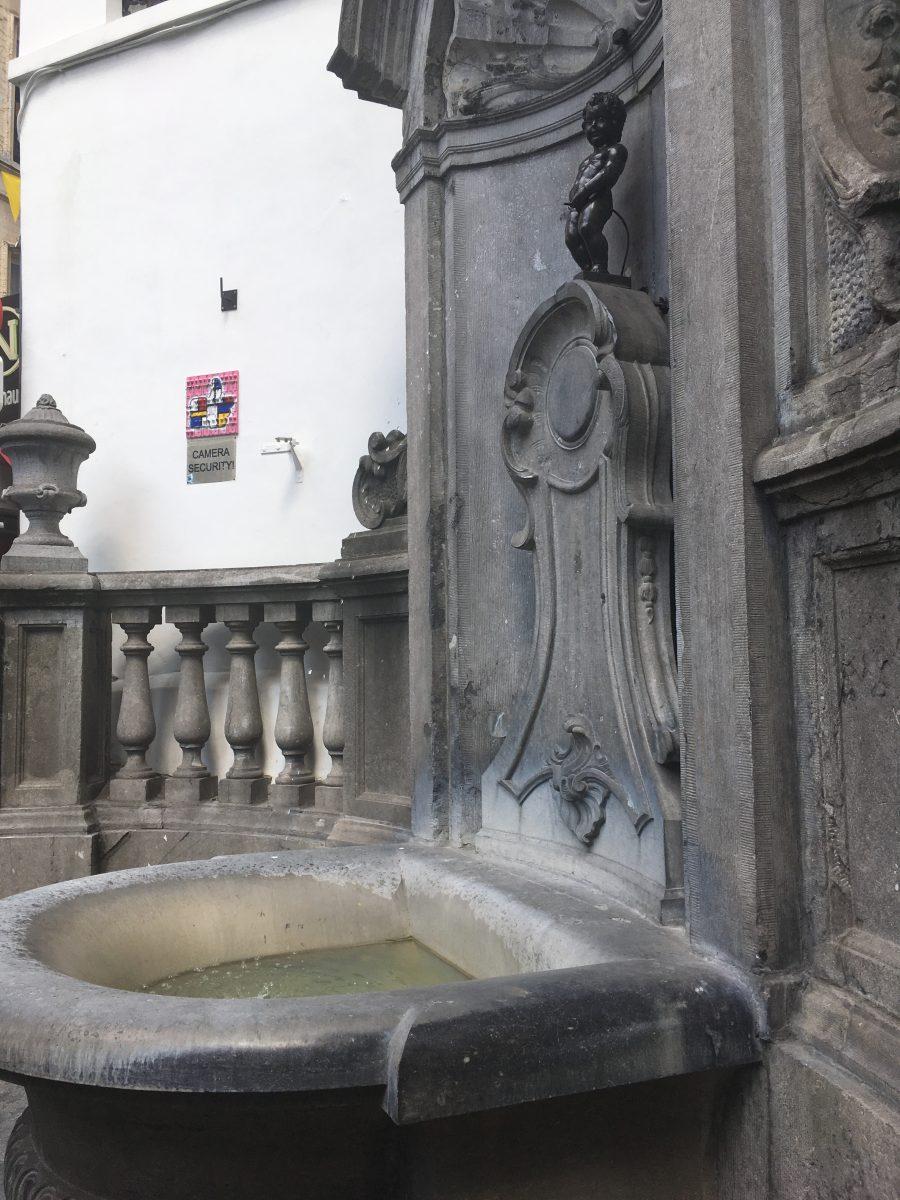 Manneken Pis Bryssel