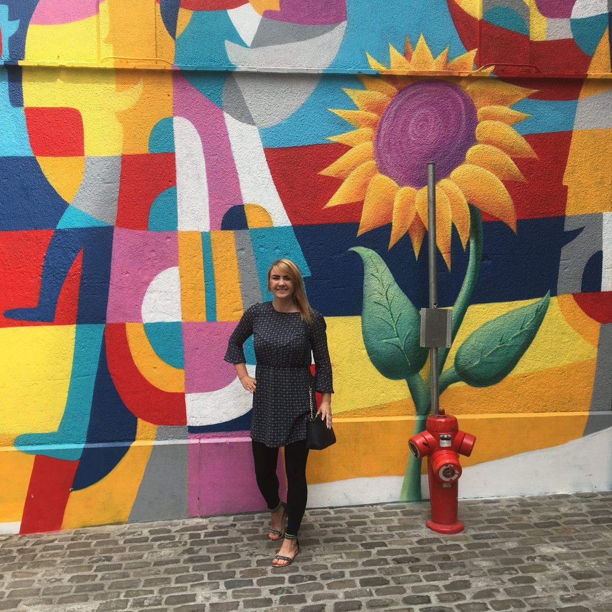 Marika Vuorinen Brysselissä