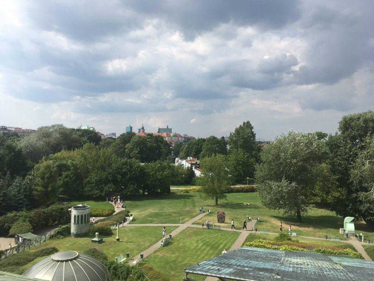 Varsova puutarha