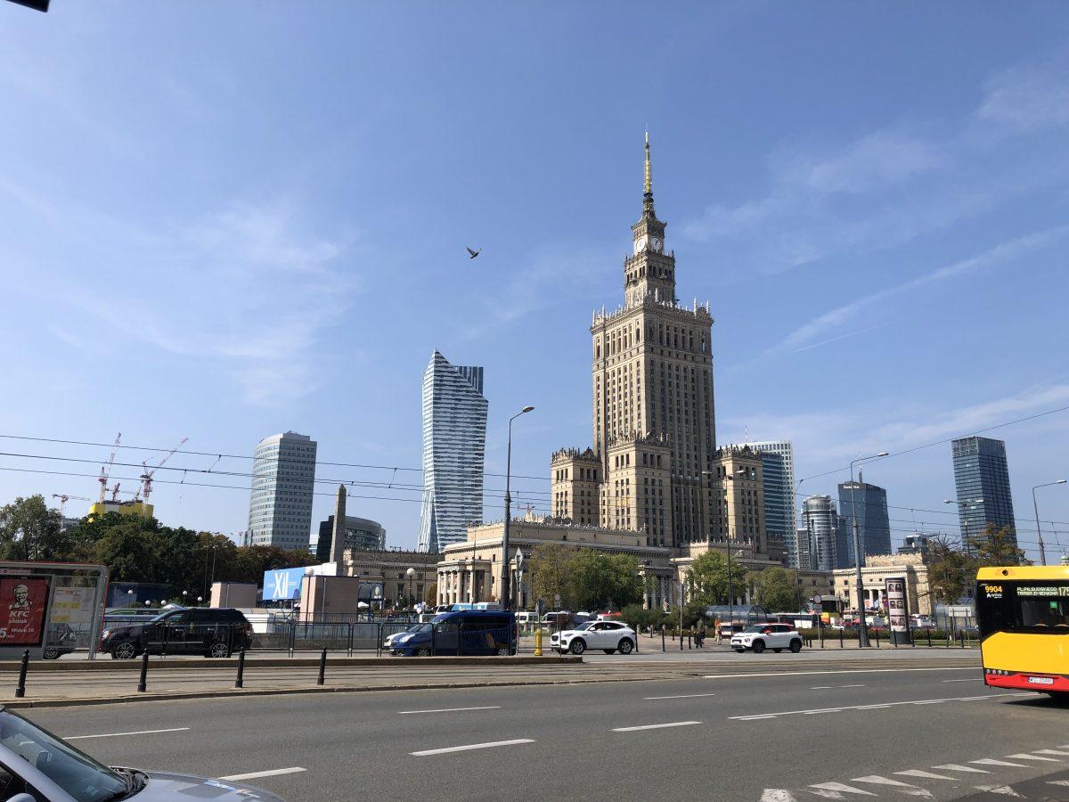 Valokuvia Varsovasta