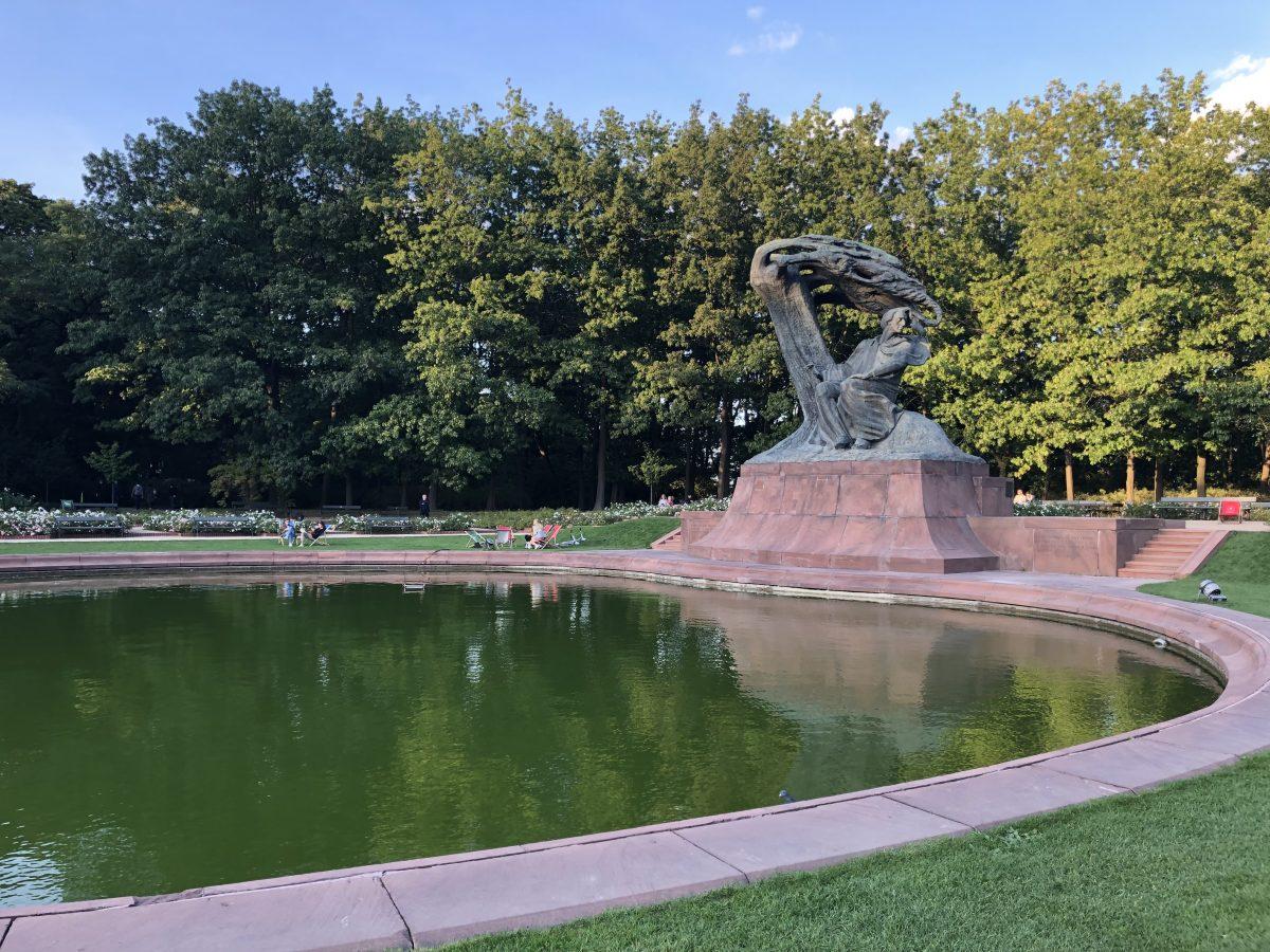 Chopin patsas Varsova