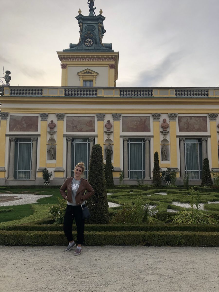 Wilanowin palatsin puutarha