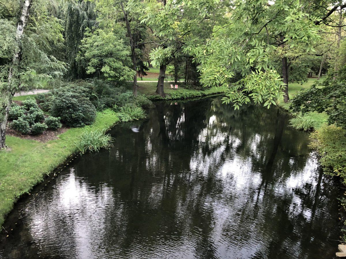 Łazienki Park Varsova