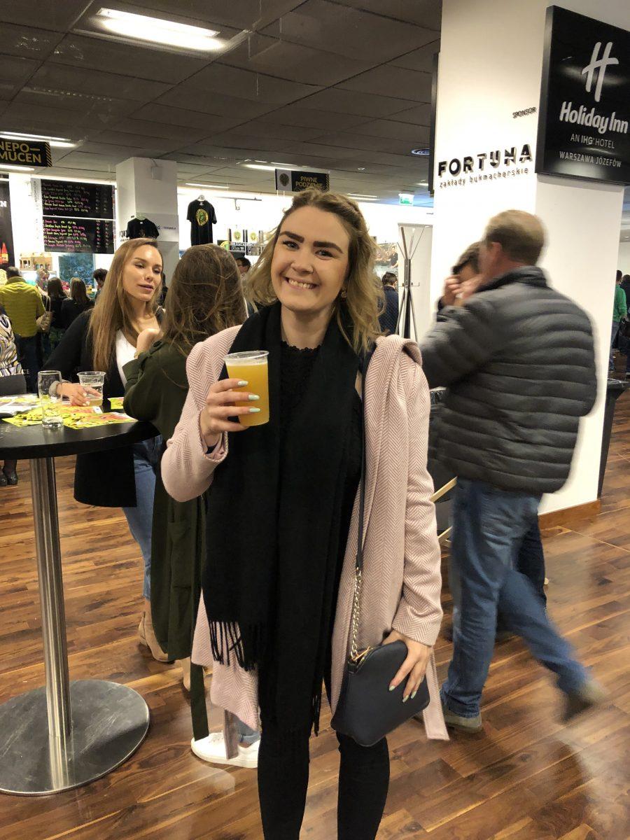 Olutfestivaali Varsova Marika Vuorinen