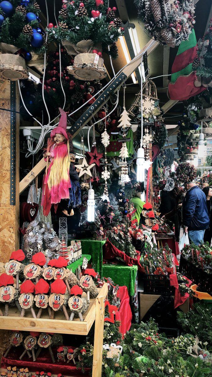 joulumarkkinat barcelona