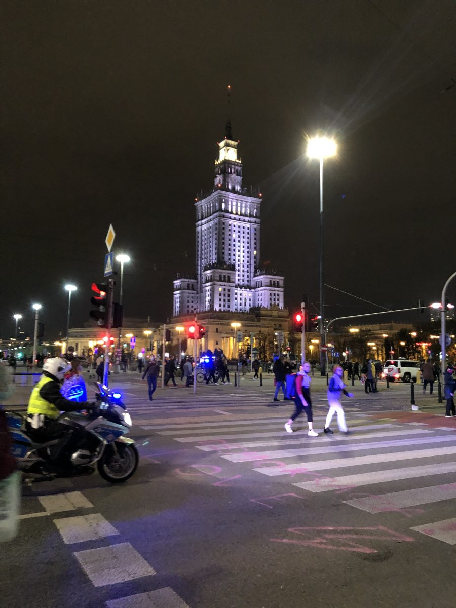 Varsova protesti