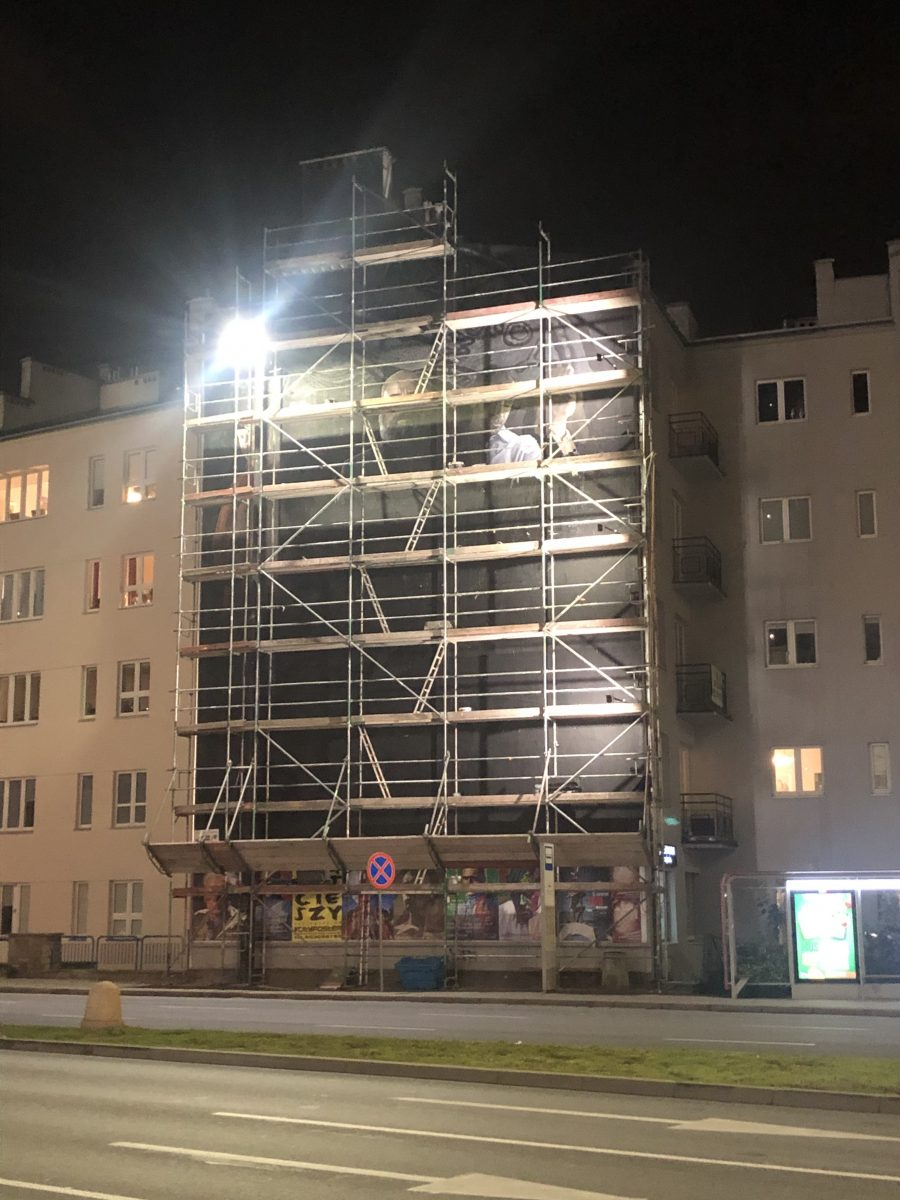 graffiti varsova